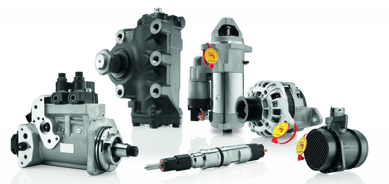 Bosch покажет новые запчасти и оборудование для ремонта грузовиков