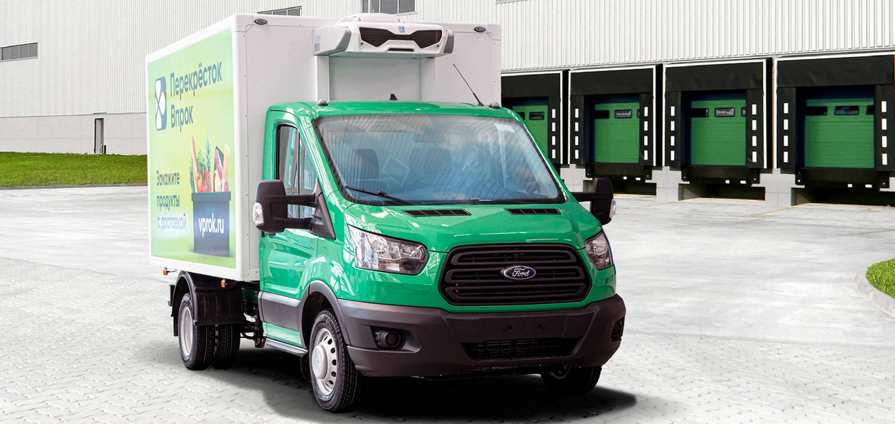 «Соллерс Форд» поставит более 200 рефрижераторов Ford Transit для «Перекрестка»