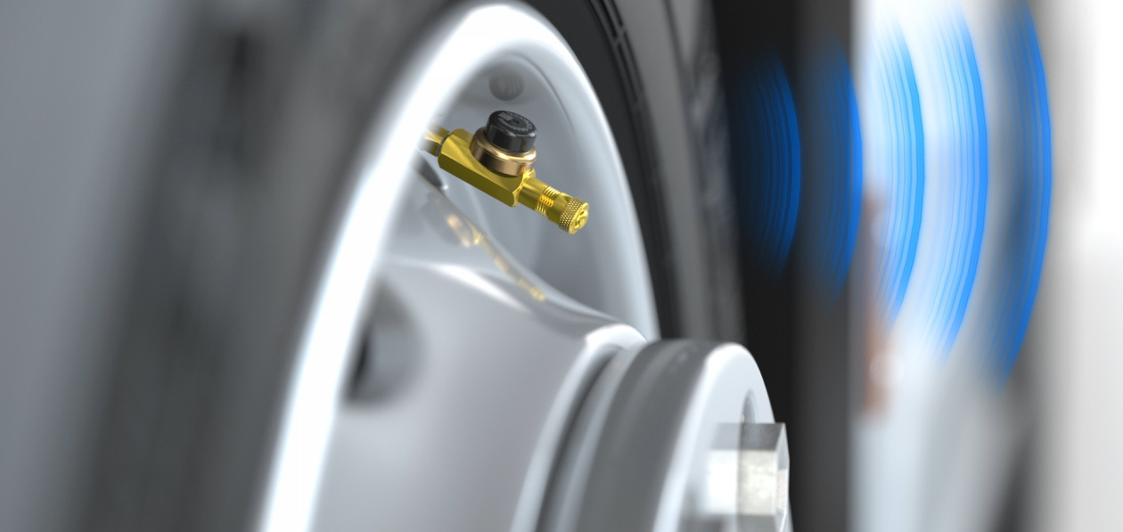 Goodyear представила новую систему контроля давления в шинах