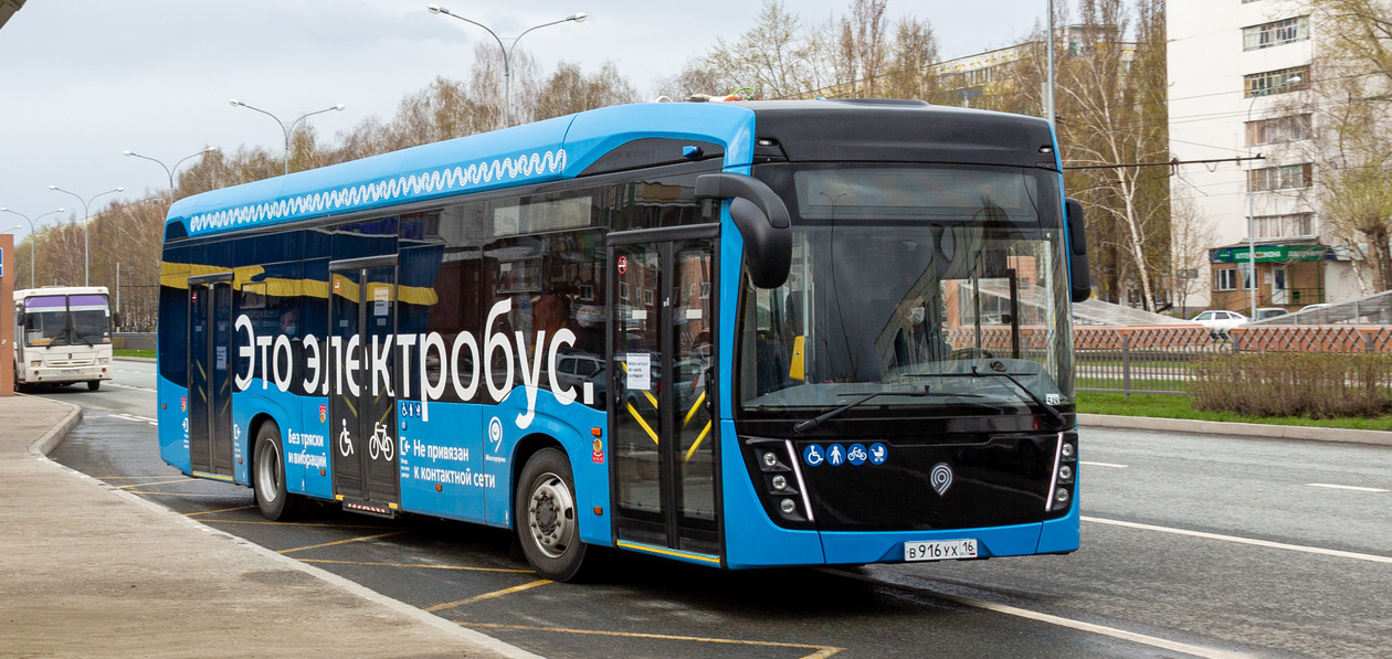 Стали известны первые итоги эксплуатации электробуса «КАМАЗ» в Казани