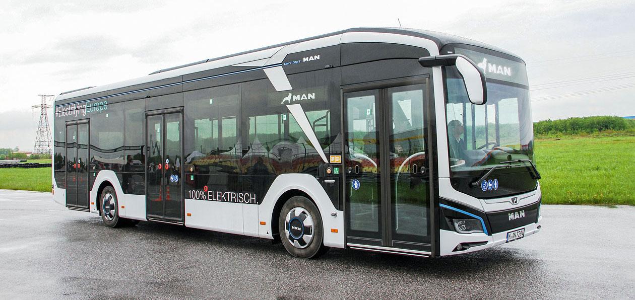 Тест-драйв электробуса MAN Lion'S City 12E: заезжий гранд на электротяге