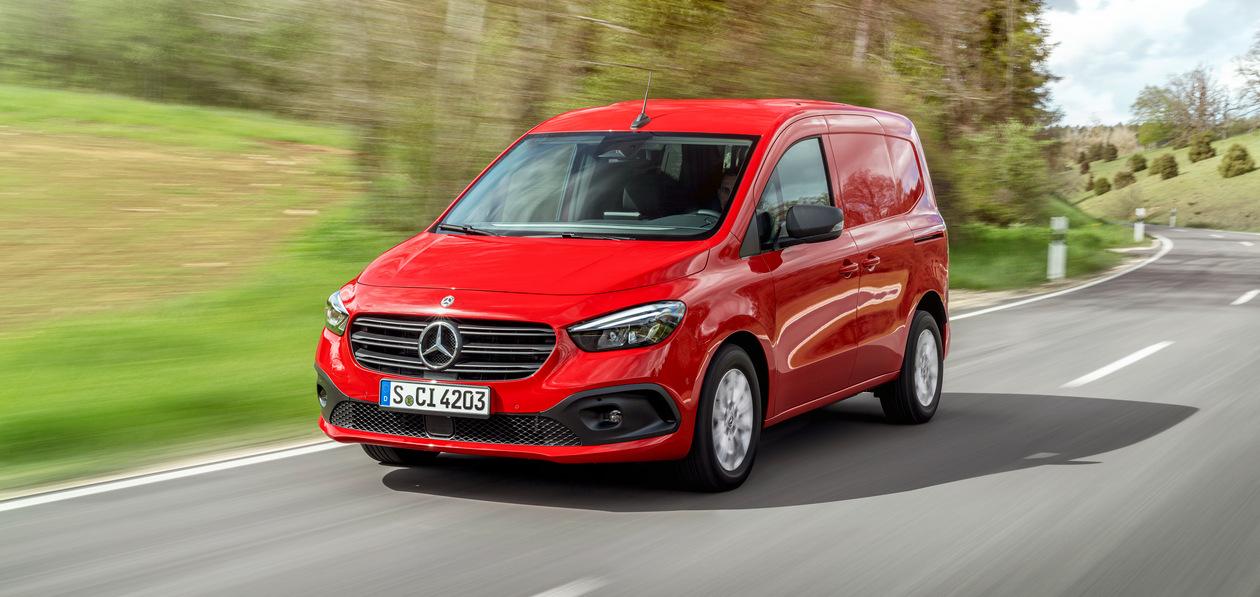 Mercedes-Benz представил новое поколение компактвэна Citan