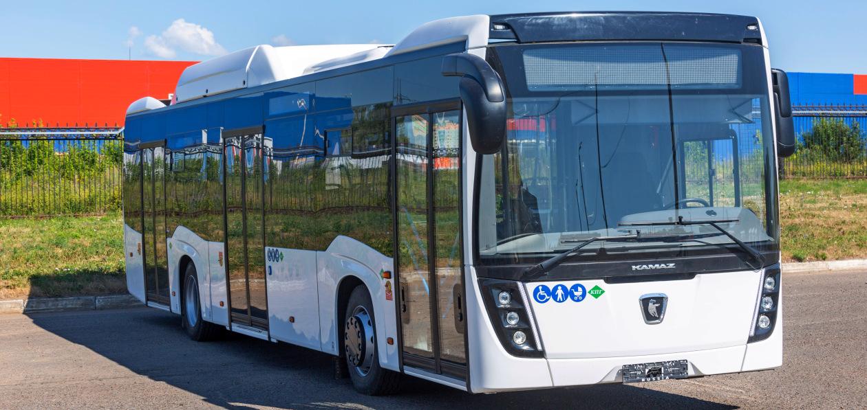 Власти Казани закупили новую партию газомоторных автобусов «НЕФАЗ»