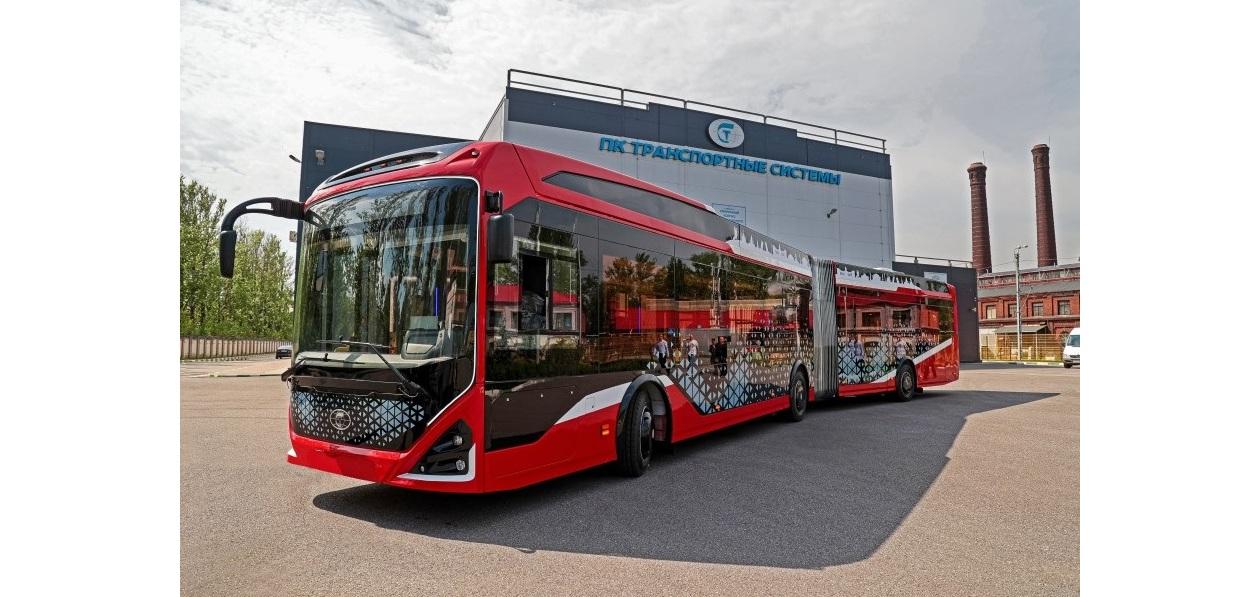 Новый российский электробус покажут на Comtrans 2021