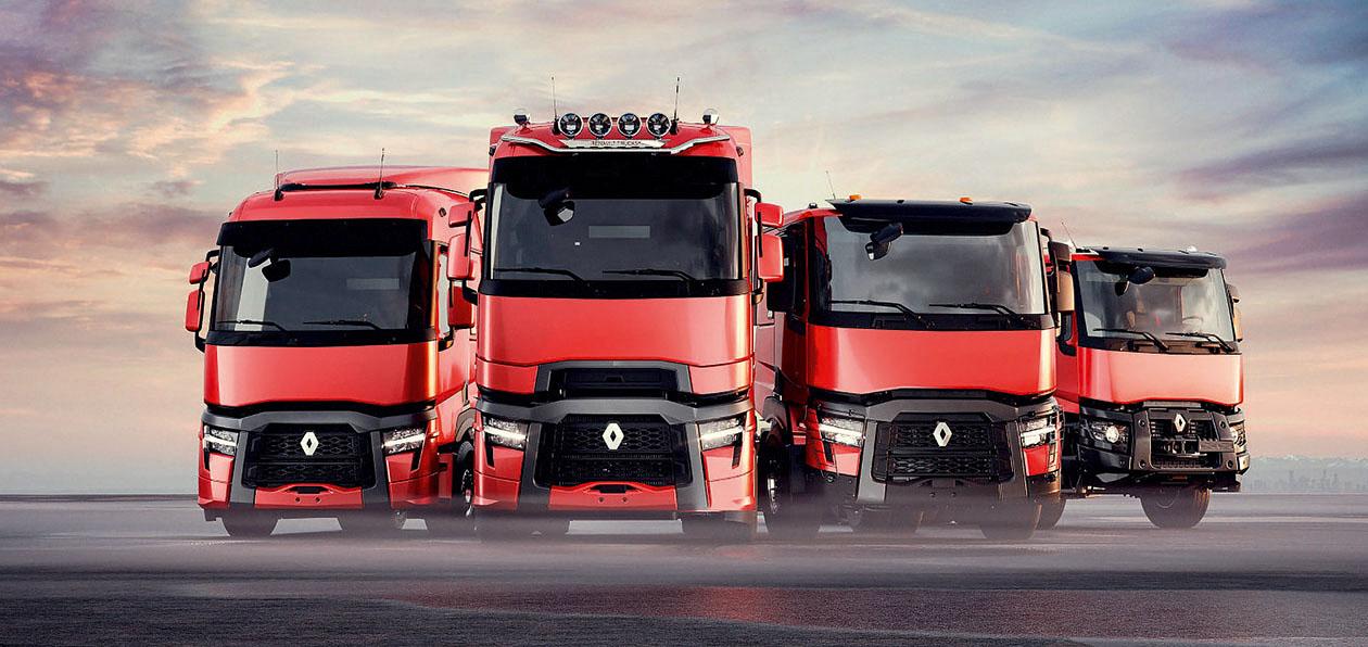 Обновленные грузовики Renault: в кильватере флагмана