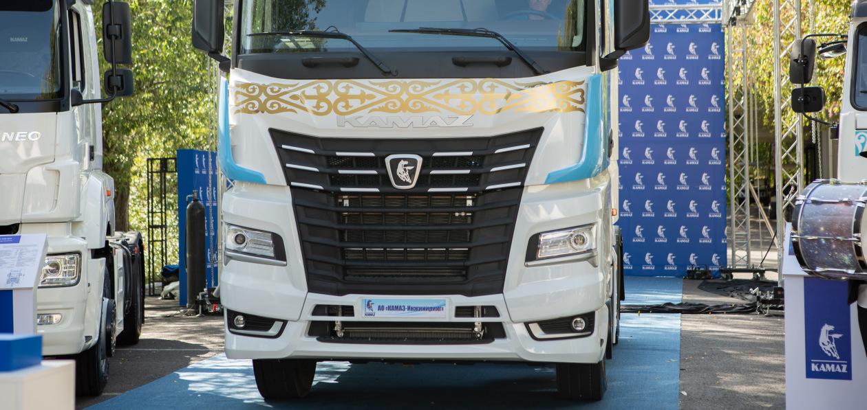 Магистральный тягач КАМАЗ поколения К5 начал собираться в Казахстане