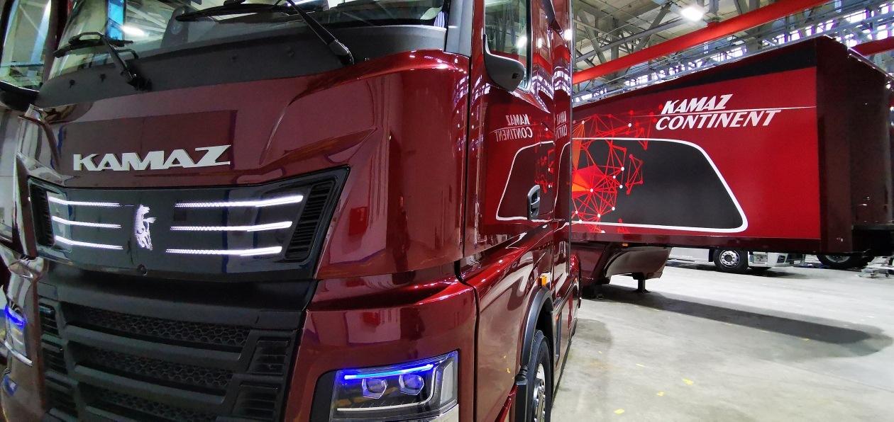 КАМАЗ представил грузовик нового поколения K6