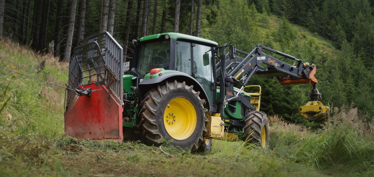 Nokian модернизировала шины для лесохозяйственных тракторов