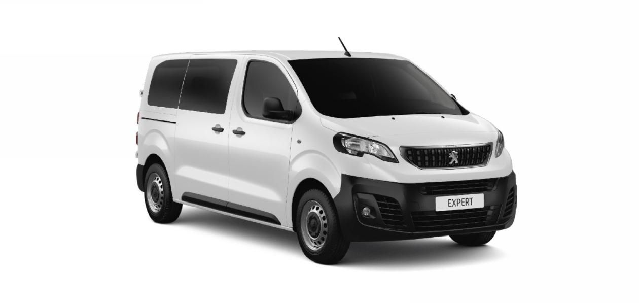 В России начнет продаваться Peugeot Expert в версии бизнес-купе