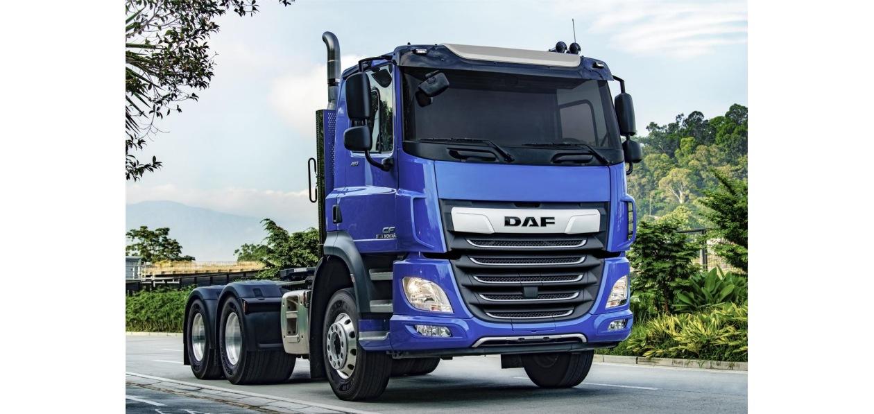 В Колумбию поставили крупнейшую партию тягачей DAF