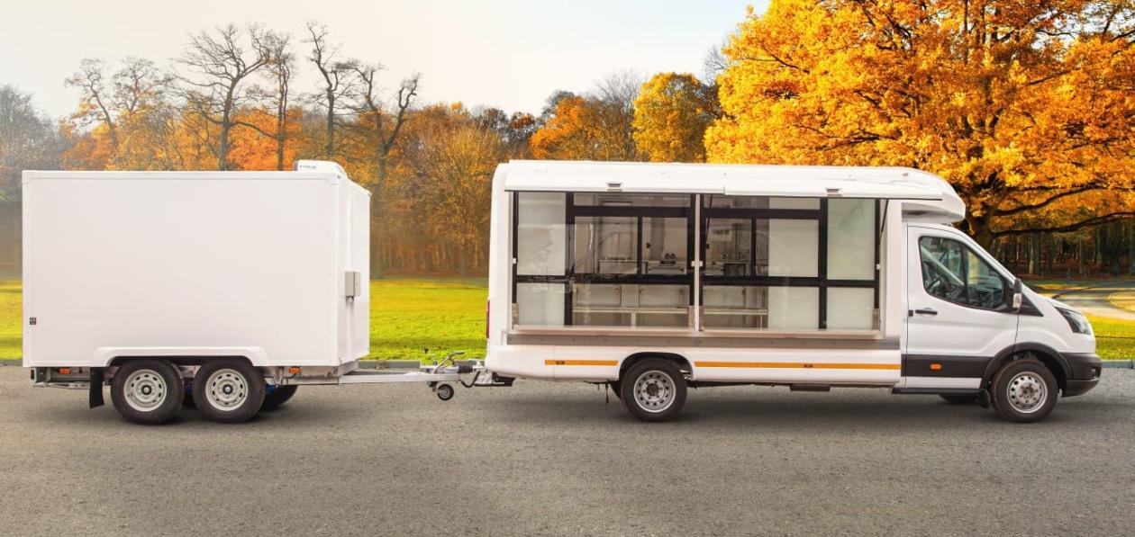 «Соллерс Форд» представил рыбный фургон и автокафе на базе Ford Transit