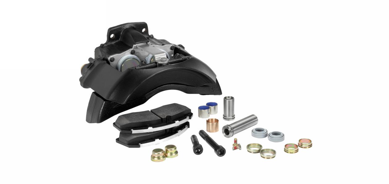 У Meritor появились ремкомплекты дисковых тормозов для тягачей Volvo и Renault