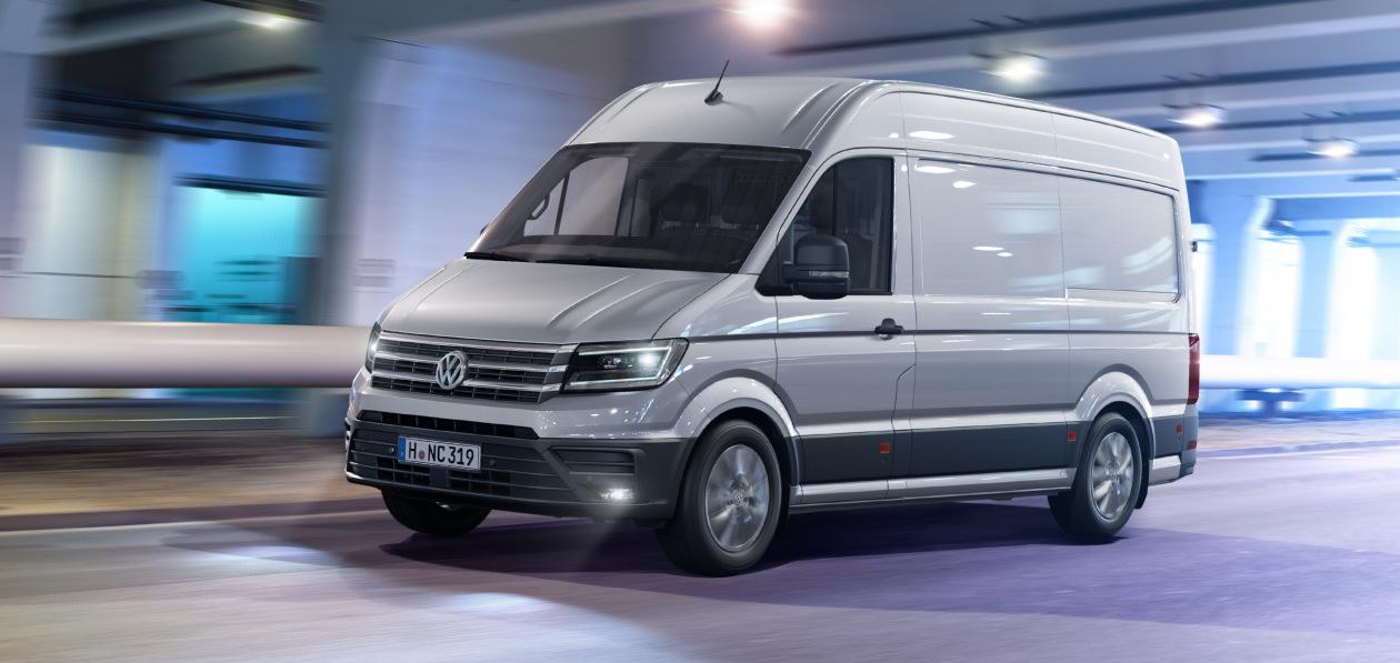 Volkswagen Crafter получил в России новый мощный мотор