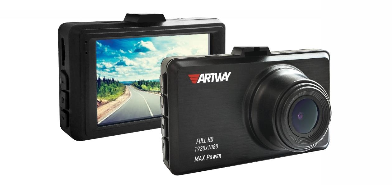 Artway выпустил видеорегистратор AV-400 MAX Power