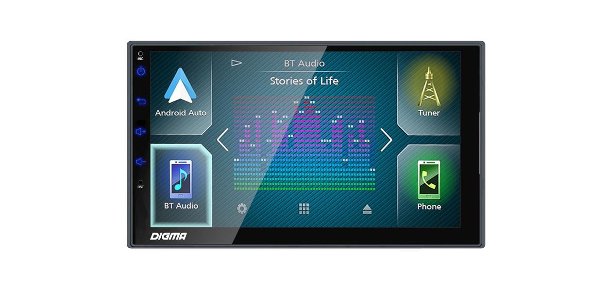 Digma расширила модельный ряд автомагнитол