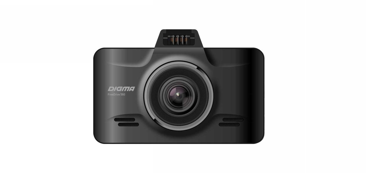 Digma выпустила видеорегистратор FreeDrive 560