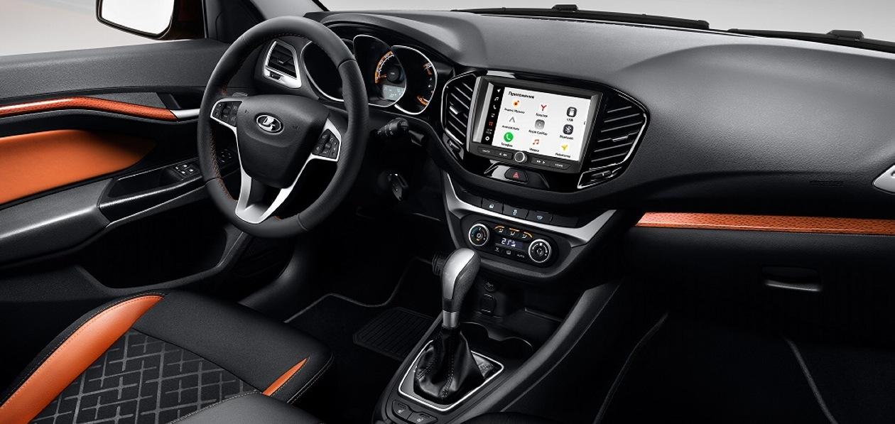 Автомобили Lada с новой мультимедийной системой поступили в продажу