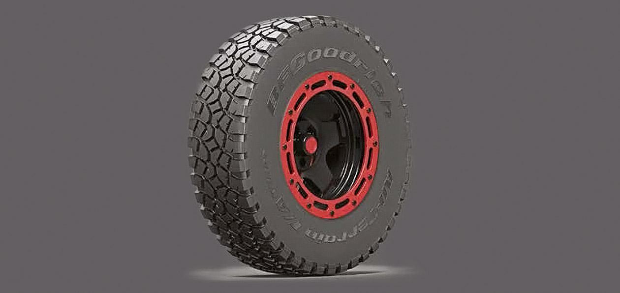 BFGoodrich представил шины для «Дакара-2018»