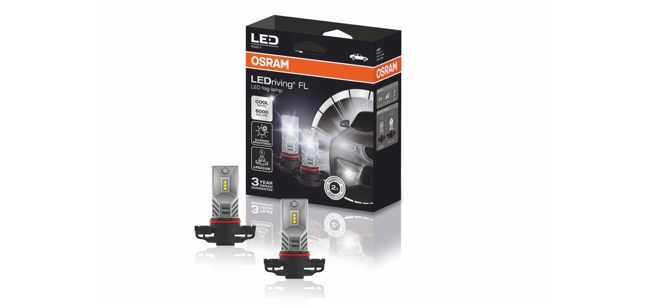 Osram выпустил новые лампы для «противотуманок»