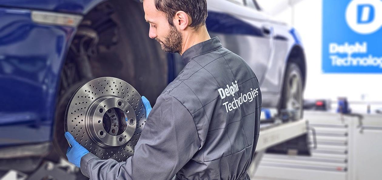 Delphi Technologies выпустила новые детали тормозной системы