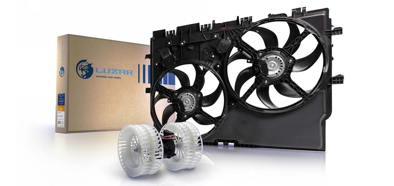 LUZAR выпустил новые электровентиляторы охлаждения