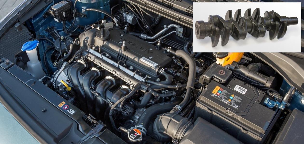 Двигатели Нyundai получат российские коленвалы
