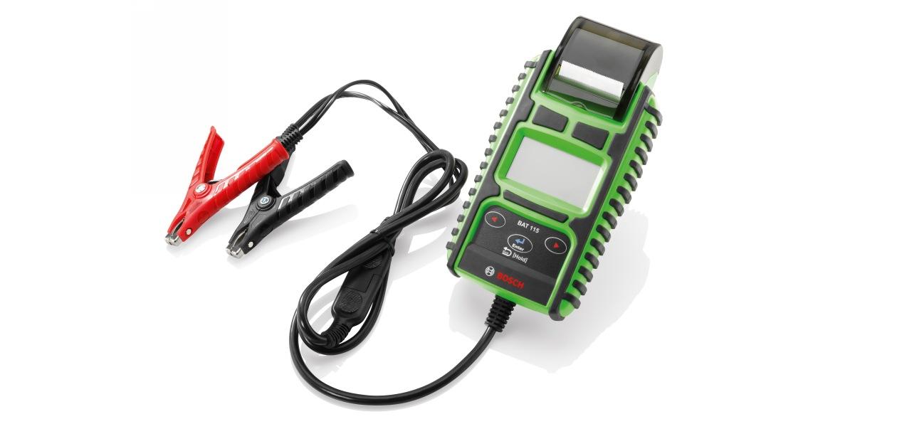 Bosch представил новый тестер для проверки стартерных батарей