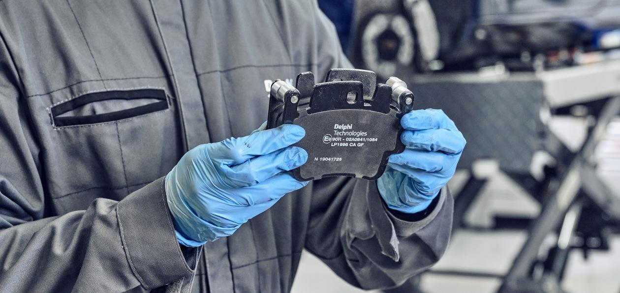 Delphi Technologies представил новые тормозные колодки