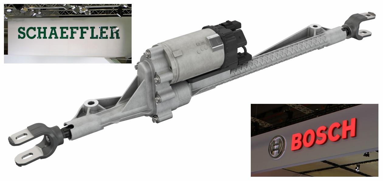 Schaeffler и Bosch будут вместе выпускать системы полноуправляемого шасси