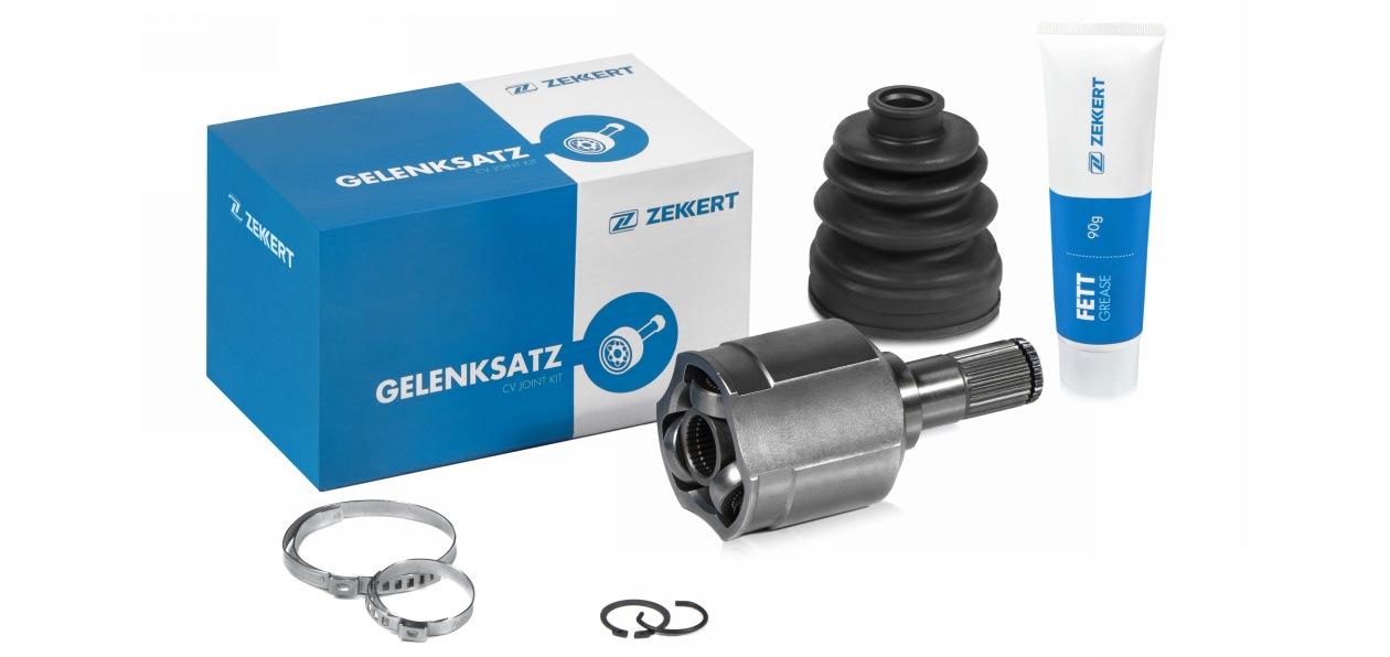Zekkert расширил ассортимент деталей системы привода