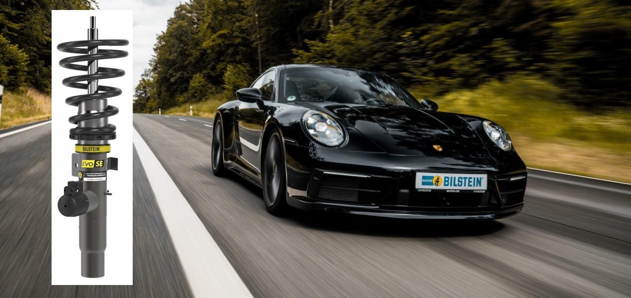 Bilstein представил винтовую подвеску для Porsche 911