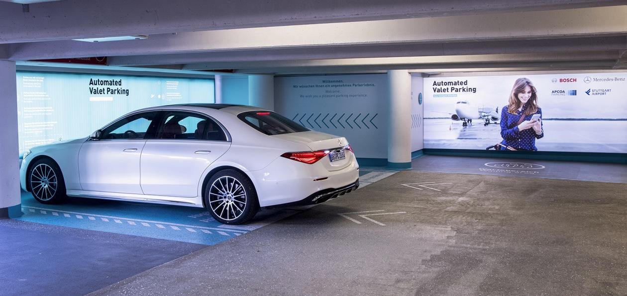 В аэропорту Штутгарта будет работать полностью автоматизированная парковка