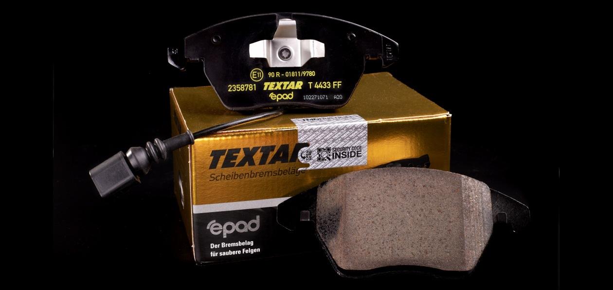 Textar представил новые тормозные колодки
