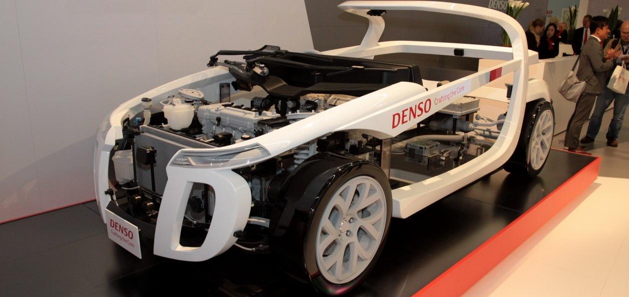 Denso представила первый серийный процессор потока данных