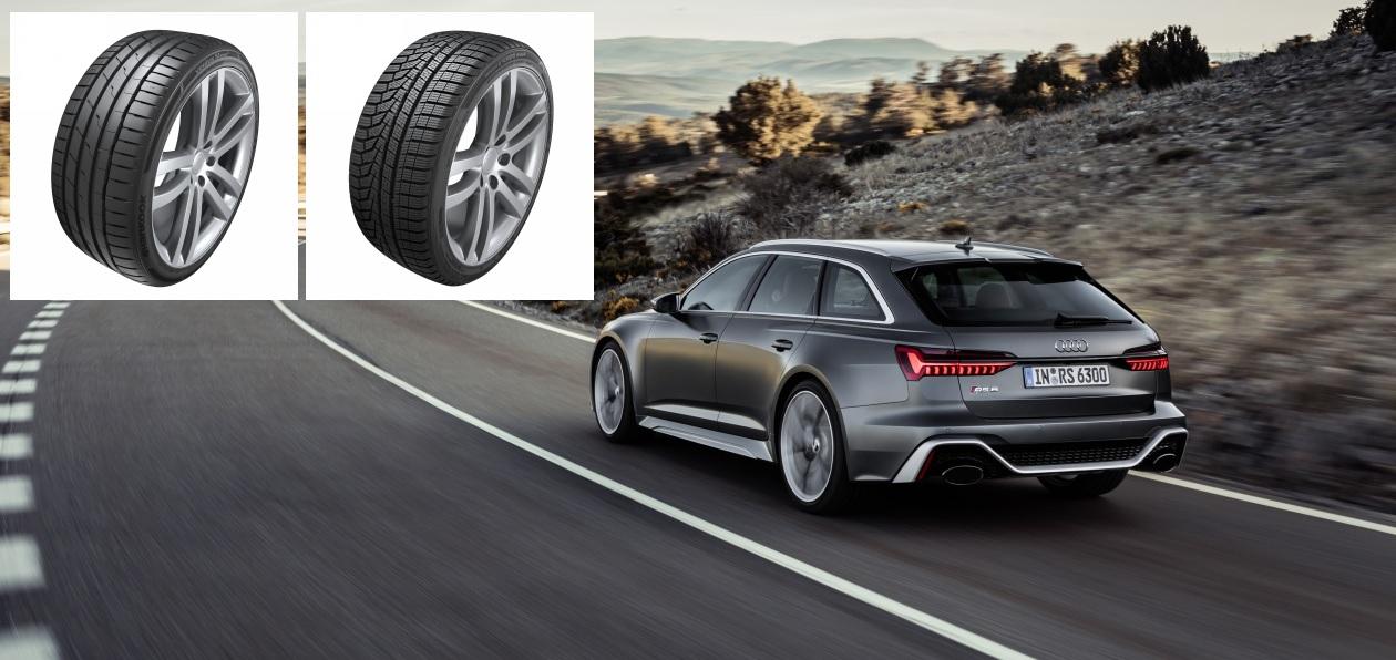 Новые Audi RS 6 Avant и RS 7 Sportback «поедут» на шинах Hankook