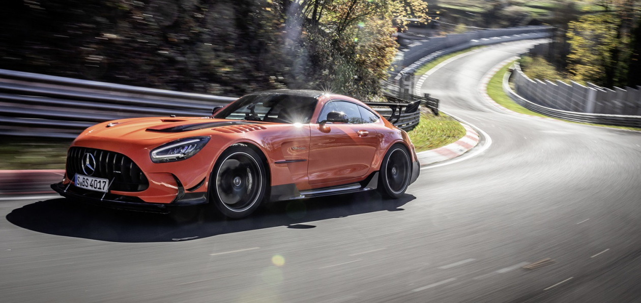 Mercedes-AMG GT Black Series «поедет» на шинах Michelin