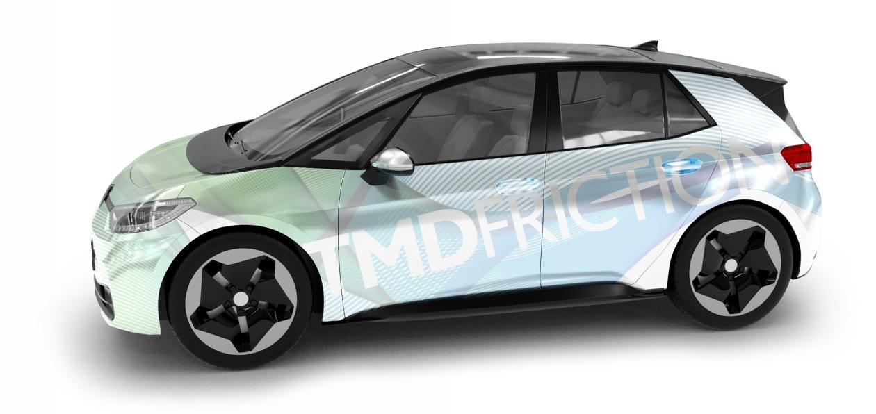 Volkswagen ID.3 получил задние барабанные тормоза с колодками TMD Friction