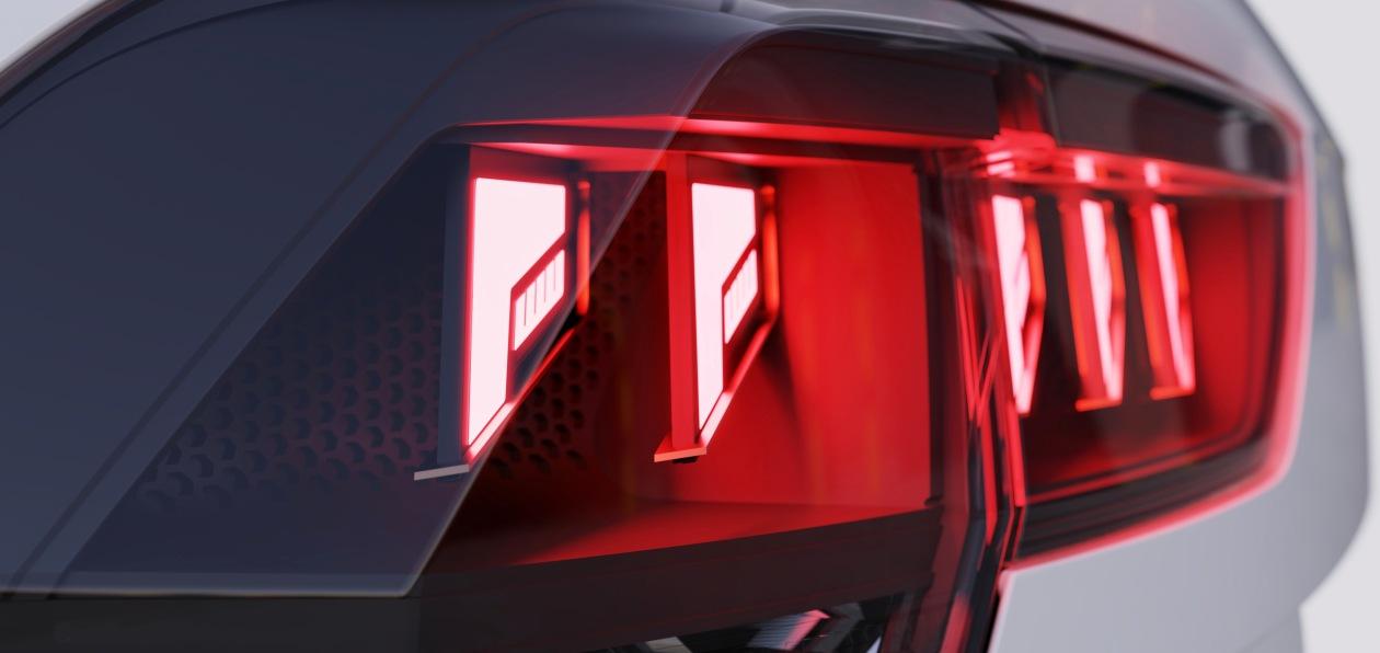 Hella представила новую концепцию светодиодных задних фонарей