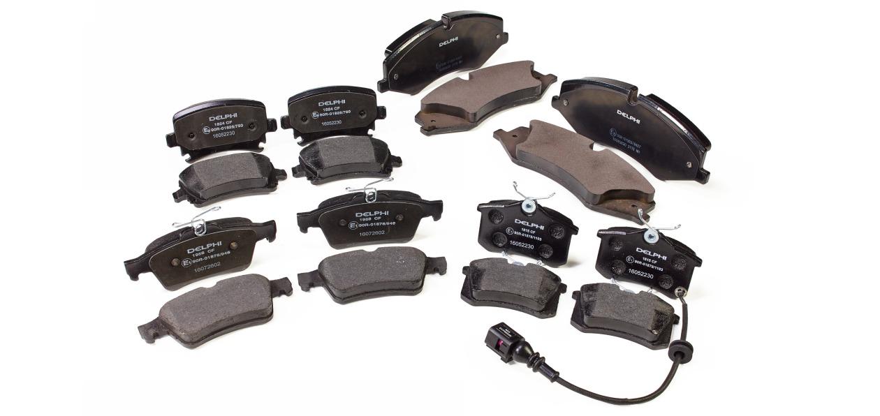 Delphi Technologies выпустил тормозные колодки для популярных авто