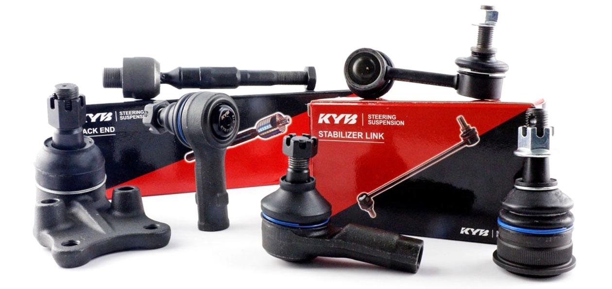KYB представила в России детали подвески и рулевого управления