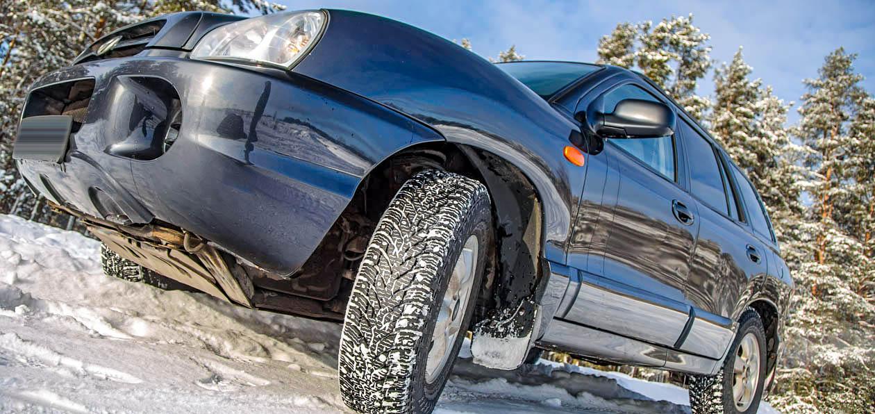 Превращаем Hyundai Santa Fe Classic во внедорожник: тест зимних шин Nokian Hakkapeliitta LT3 на кроссовом полигоне