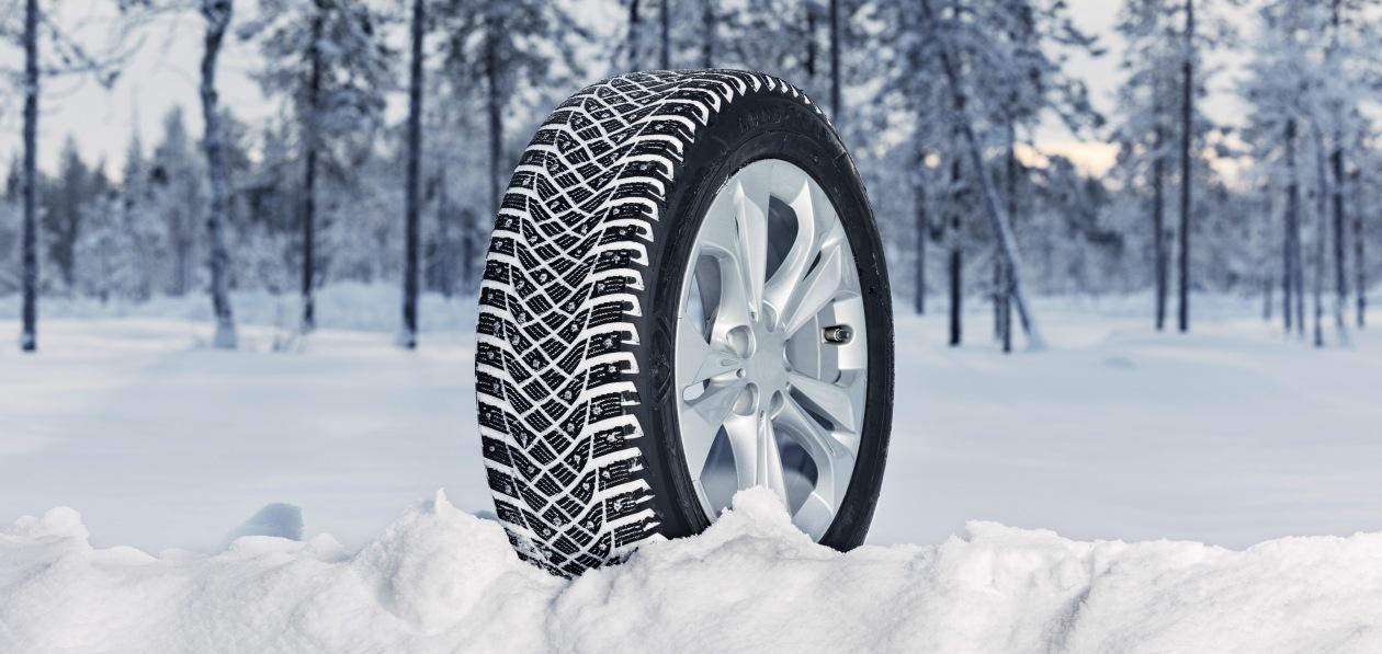 Goodyear представил новые шипованные шины