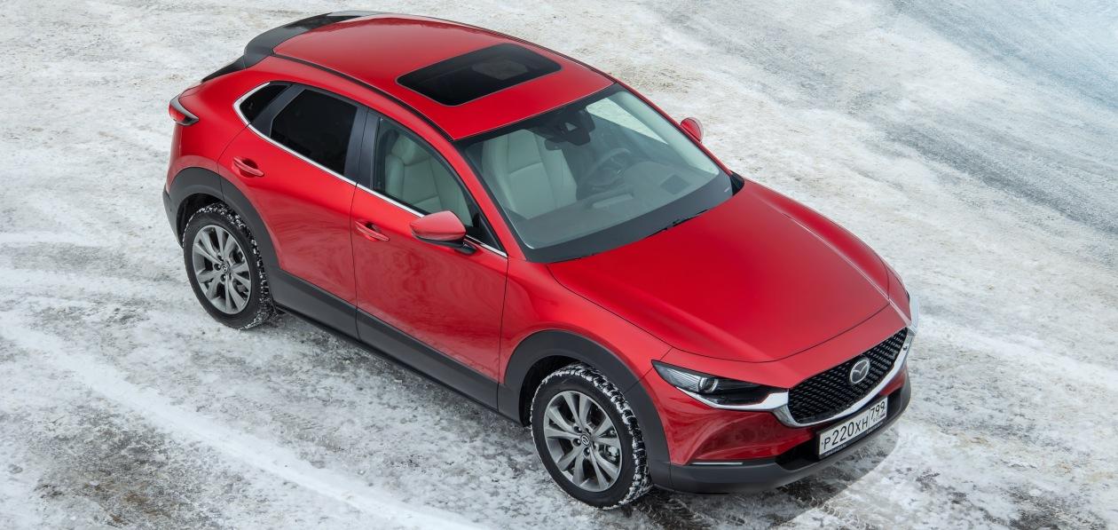 Новая Mazda CX-30 получила люк Webasto