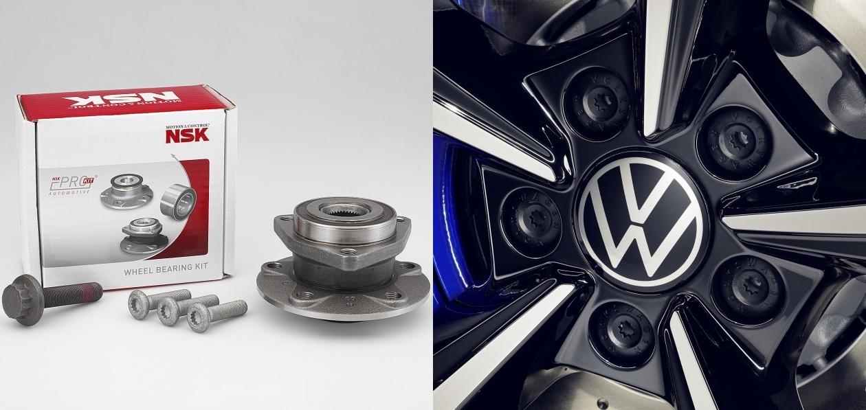 NSK и Volkswagen разработали новый электроусилитель руля
