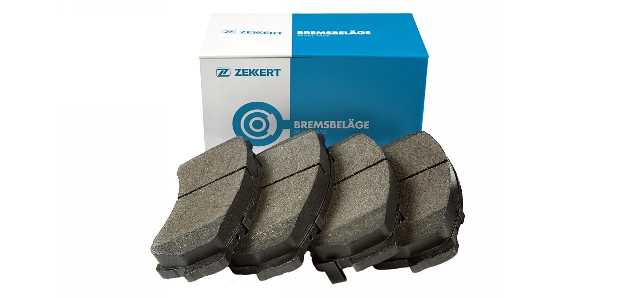 Zekkert представил новые тормозные колодки
