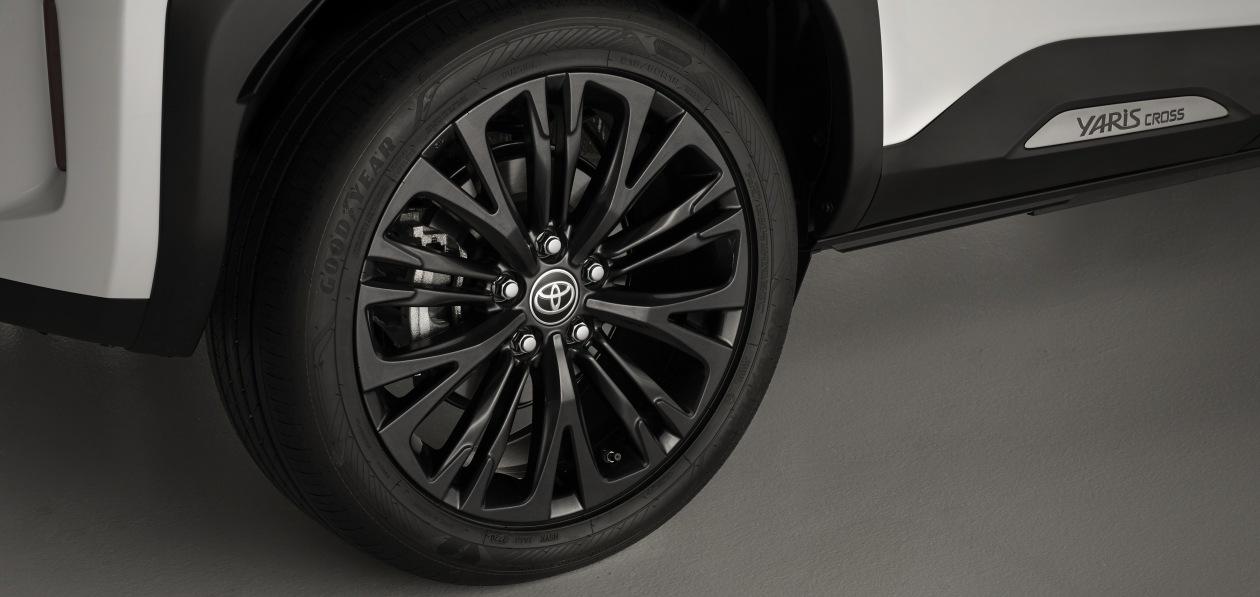 Toyota Yaris Cross «поедет» на шинах Goodyear