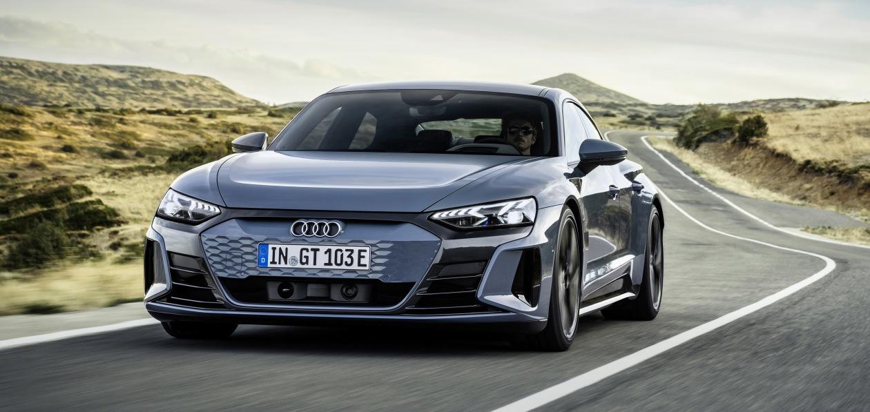 Audi e-tron GT quattro получит шины Hankook