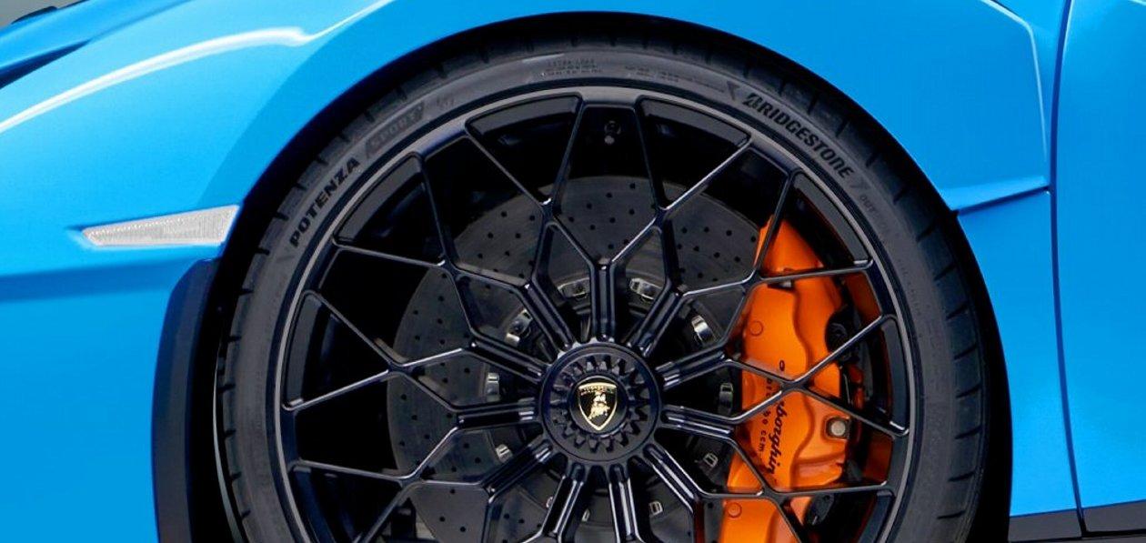 Bridgestone разработала шины для Lamborghini Huracan STO