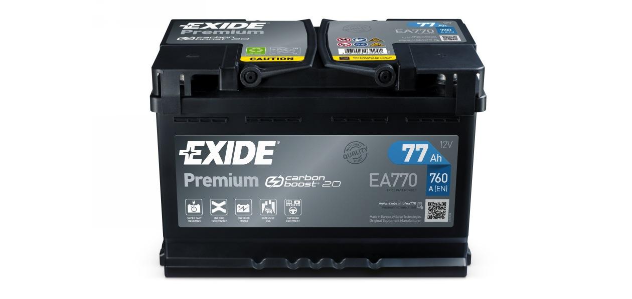 Exide обновил аккумуляторы серии Premium