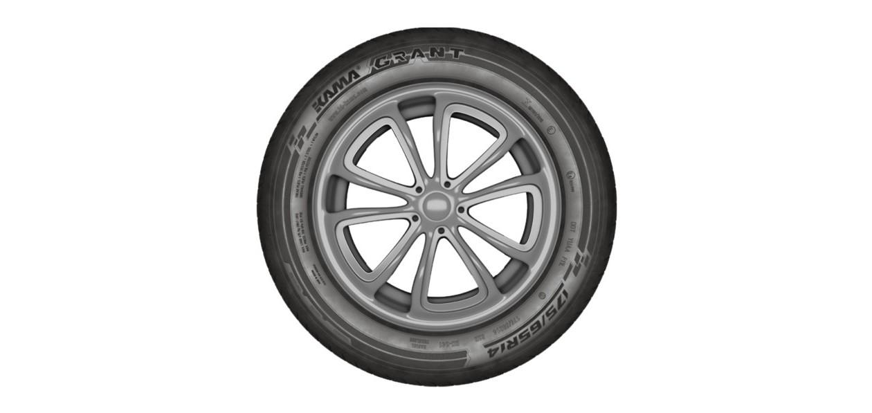 Kama представила шины Grant для Lada Granta